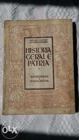 HISTÓRIA GERAL da Pátria II Antiguidade e idade média