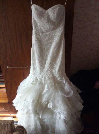 Шикарное свадебное платье от Maggie Sottero.