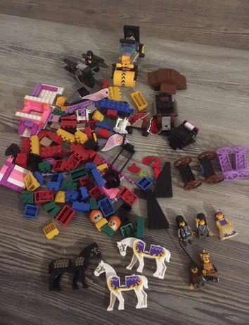Конструктор лего lego машина карета самолет лошади 5 в 1 наборе