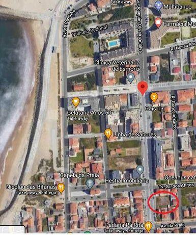 Terreno na praia de Esmoriz