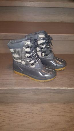 Новые зимние MARKS & SPENCER р.33-34 термо ботинки сапоги
