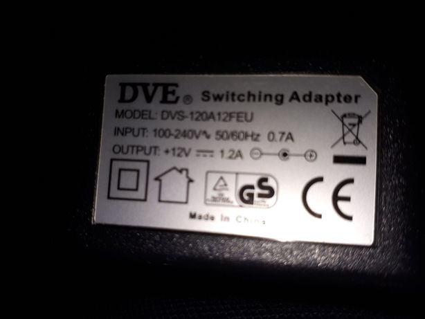 Dve switching adapter + 12v