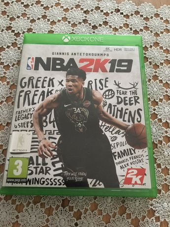 NBA 2k19 zamienię lub sprzedam xbox one