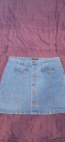Юбка джинсовая крутая