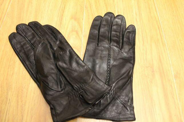 Перчатки кожаные мужские демисезон Италия