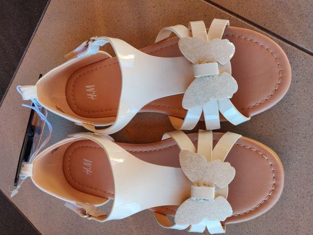 H&M nowe sandałki rozmiar od 26 do 33, buty sandały