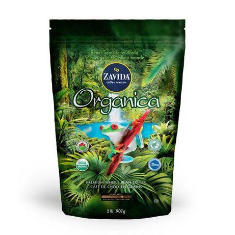 """Кофе Zavida Organica 100% """"Органический 100%"""" Обжарка Высокая"""