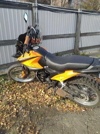 Продам мотоцикл Shineray 2018