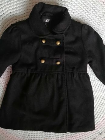 Płaszczyk grzybek dziewczynka H&M rozmiar 128