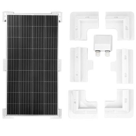 Uchwyty narożne montażowe do panel solarny kamper [SOL56]