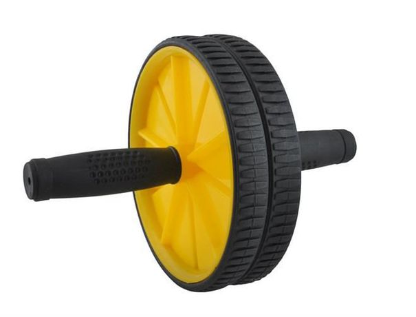 Podwójne koło wałek roller do ćwiczeń