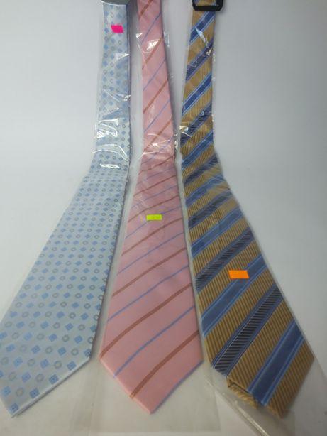 Krawaty 15zł cena za trzy sztuki