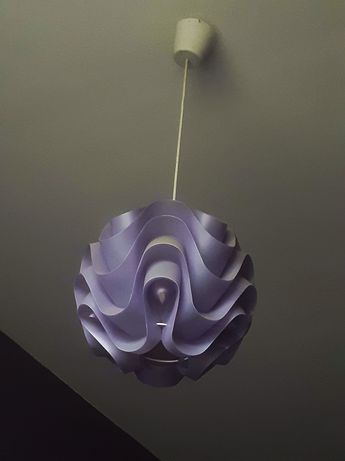 Lampa sufitowa fiolet