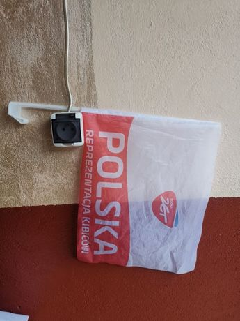Flaga Polski Do Samochodu NOWA Radio Zet