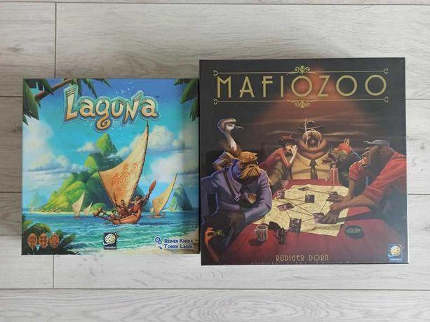 Laguna i Mafiozoo - Pakiet dwie nowe zafoliowane gry planszowe
