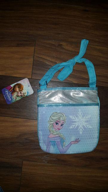 Nowa torebka Frozen Anna i Elsa ( Elza ) Kraina lodu