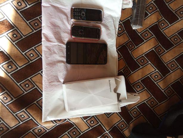 Продам телефоны.lenovo a916.nokia e51.nokia5230.