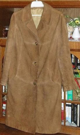 Płaszcz z Irchy (skóra naturalna) rozm 42-44