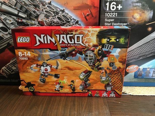 Lego 70592 Ninjago Mech Ronina Nowe Oryginalne Lego