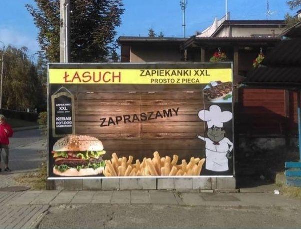 Kiosk gastronomiczny kebab