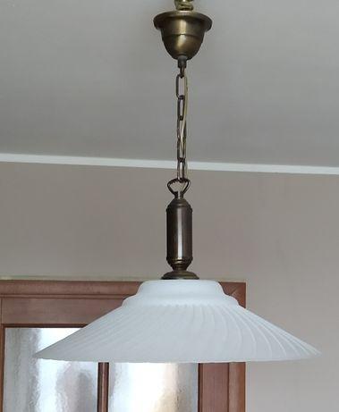Sprzedam lampę ze szklanym kloszem