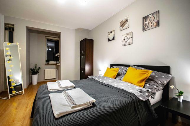 Apartament 4 osobowy, na doby oraz dłuższe pobyty + parking w cenie