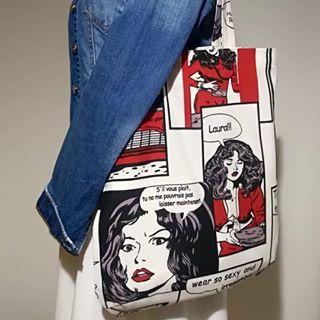 сумка-шоппер з якісних тканин