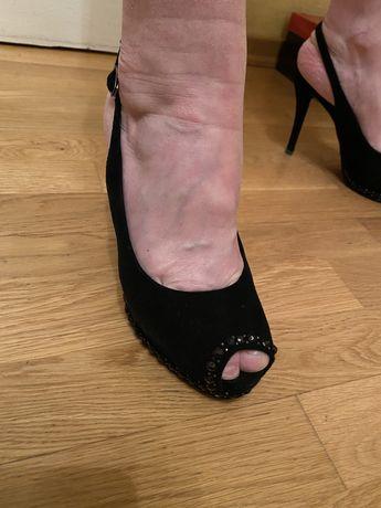 Замшеві туфлі 37 р.