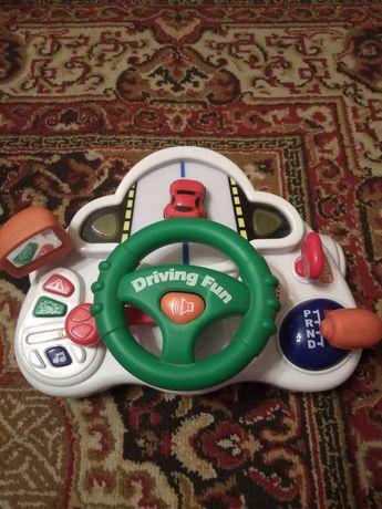 Детский руль отличная игрушка