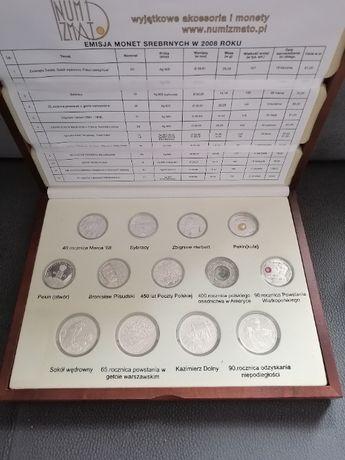 Zestaw Komplet monet kolekcjonerskich 2008