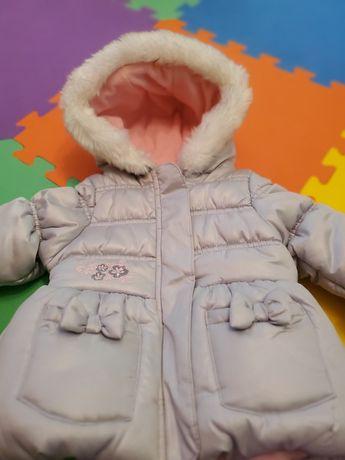Брендовая зимняя теплая куртка пальто пуховик London Fog 12м