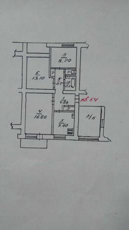 3 комнатная.Трёхкомнатная квартира, город Очаков, Николаевская область