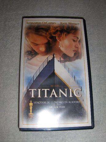 TITANIC - Filme de James Cameron - 11 Óscares - Em cassete VHS - NOVO