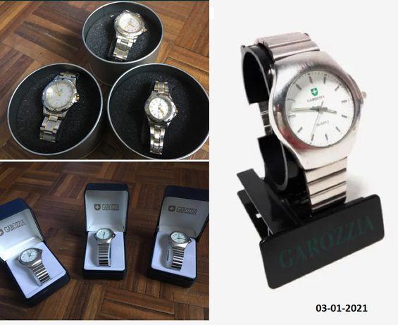6 relógios Garozzia Quartz Japan - Novos