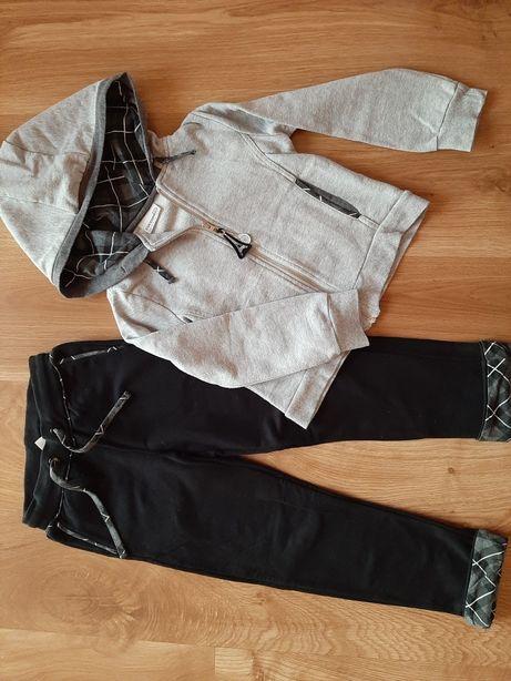 Komplet Coccodrillo bluza spodnie 122 j.nowe
