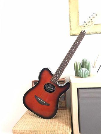 Guitarra fender electro acustica