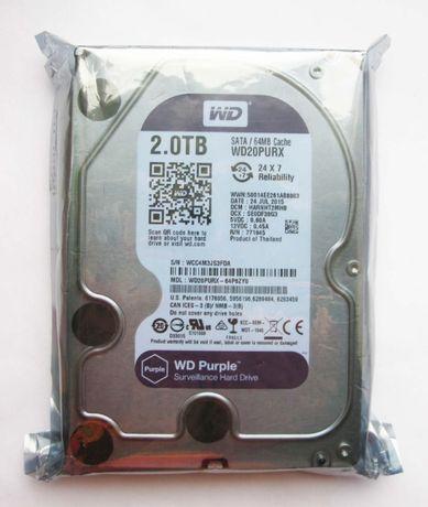 WD Purple 2TB SATA III (Новый, в упaковке)