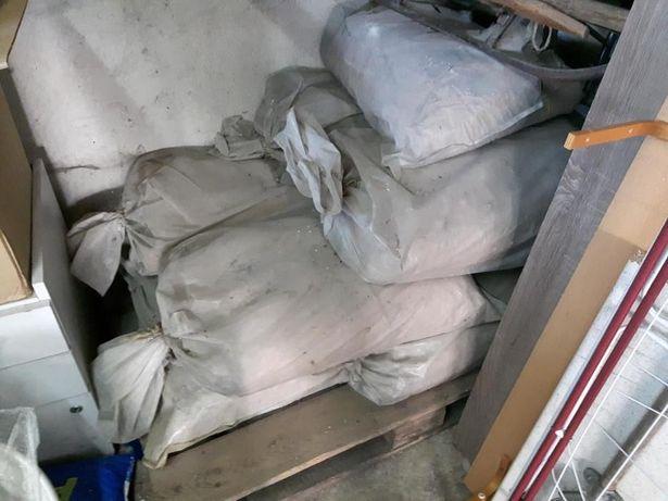 worki zaprawy do cegieł piec ceramiczny ceramika cegła 50 kg sztuk