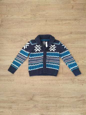 Nowy sweterek H&M 110-116