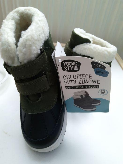 Nowe buty zimowe rozm.28 Bujaków - image 1