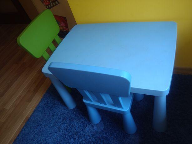 Ikea mammut stolik krzesełka