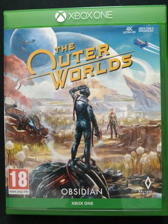 The Outer Worlds gra na konsole xbox one