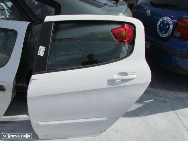 Porta Tras Esquerda Peugeot 308 do ano 2007