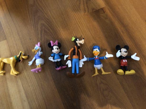 Figurki DISNEY Myszka Miki Minnie Daisy Goofy Pluto Donald