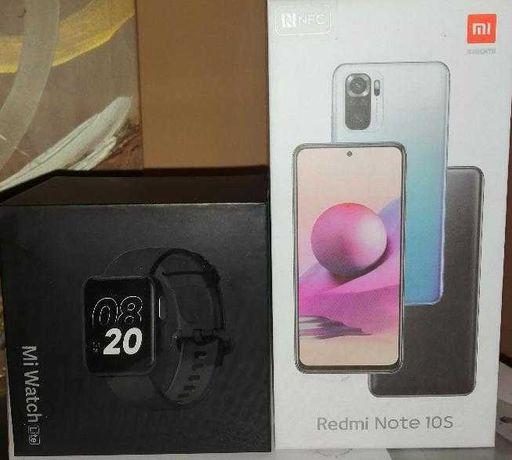 Xiaomi note 10s novo +smart watch