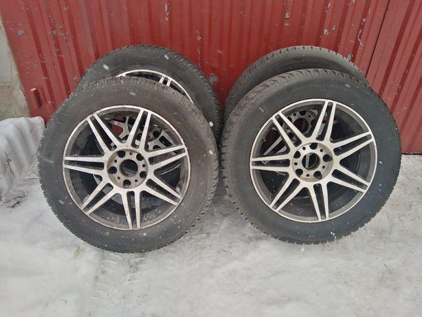Felgi BMW 17  5x120 et30 + opony zimowe
