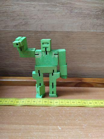 Робот- куб. Головоломка. Дерево.