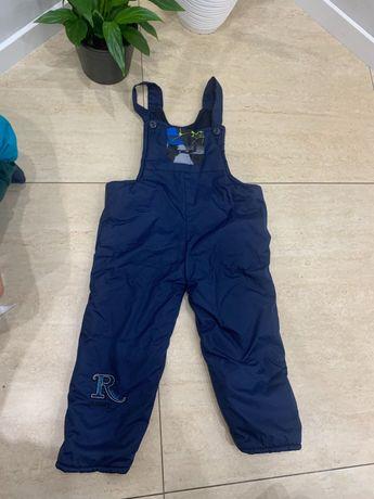 Spodnie zimowe, narciarskie 92-98