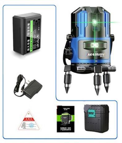 Лазерный уровень Нивелир Зеленый луч Акция !!!