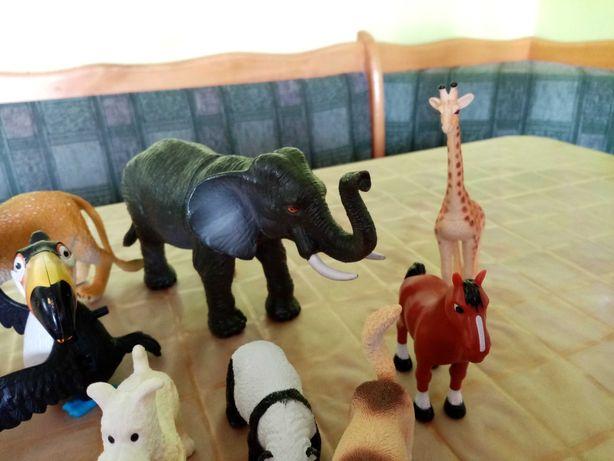Zestaw zwierząt - duże figurki